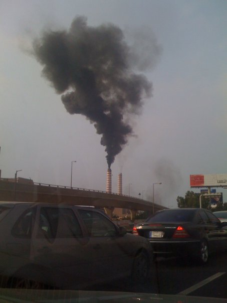 zouk electricity factory pollution