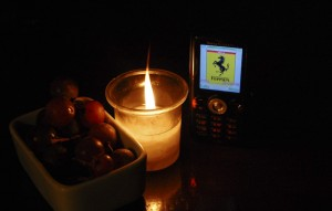 Candle for Ferrari
