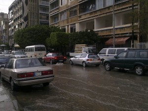 rain in beirut 1