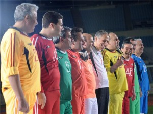 Politicians football match