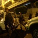 Lebanese Army soldiers deploy in the are