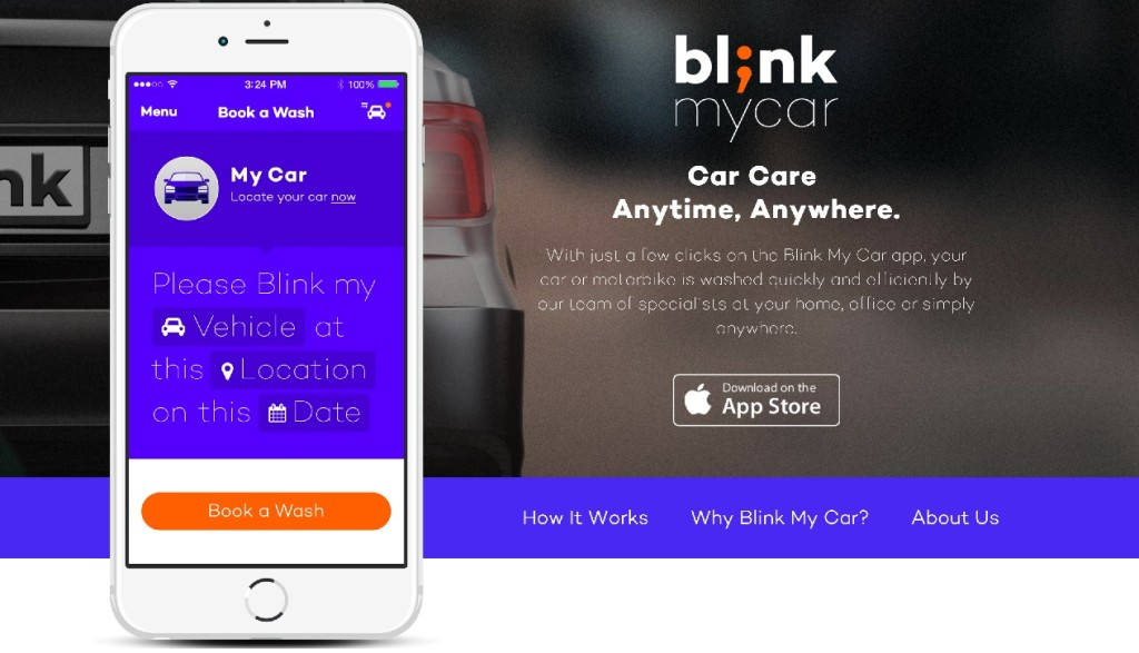 Blink My Car The Latest On Demand Car Wash Service 961